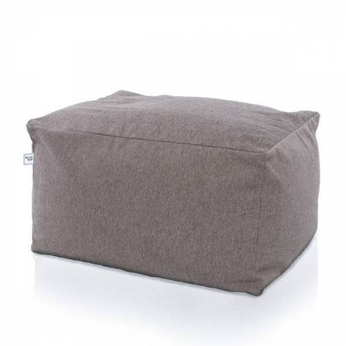Relaxfair Hocker, Sitzsack grau
