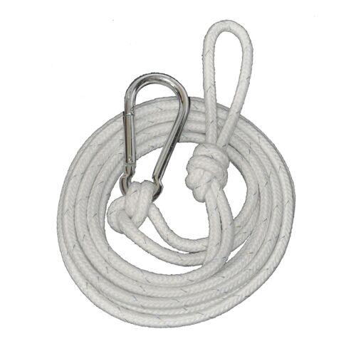 HängemattenGlück Corda, 5m Seil & Großer Karabiner Für Hängematten
