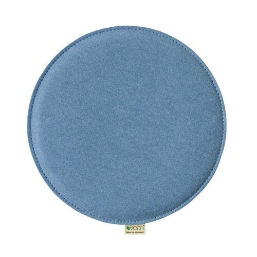 Metz Stylische Sitzkissen Violan Circle 39 Cm ice/blue
