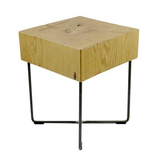 Holzbutiq Holzhocker Tabureto, Massivholz Design Hocker