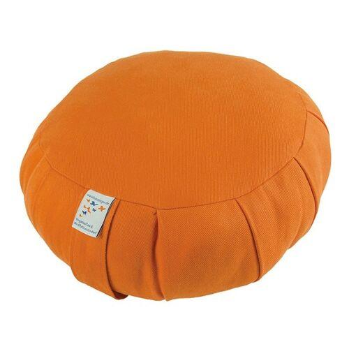Bausinger Meditationskissen Roshi Mit Dinkelspelzfüllung orange