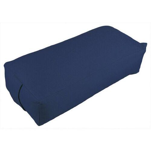 Bausinger Meditationskissen Rechteck Mit Dinkelspelzfüllung blau