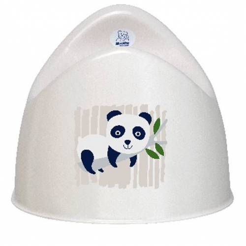 Rotho Design Bio Kindertopf Panda Weiß weiß