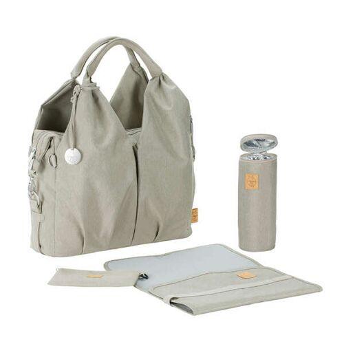 Lässig Wickeltasche Green Label Neckline Bag Ecoya, Sand green
