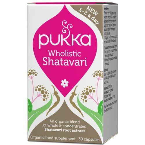 Pukka Herbs Bio Wholistic Shatavari, 30 Kapseln