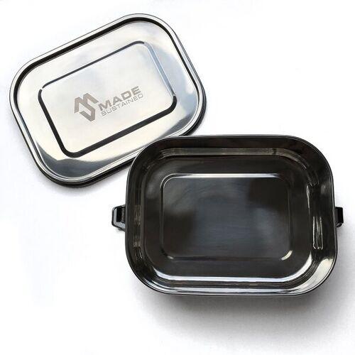 Made Sustained Auslaufsichere Edelstahl-lunchbox 20cm x 16cm x 6 Cm  groß