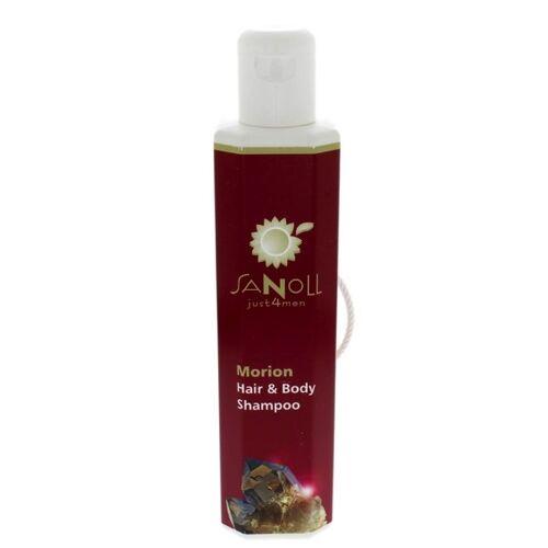 Sanoll Biokosmetik Morion Hair & Body Shampoo Von Sanoll Just4men