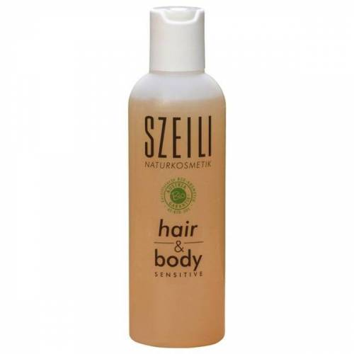 SZEILI Naturkosmetik Hair & Body Sensitive Veganes Naturshampoo Von Szeili Naturkosmetik