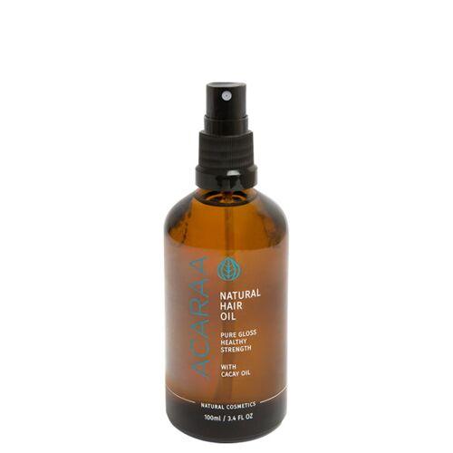 ACARAA Naturkosmetik Veganes Haaröl Ohne Silikone Für Trockenes Haar Mit Arganöl