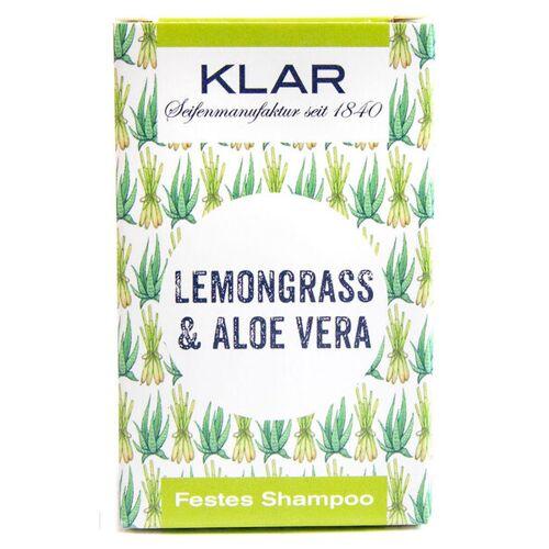 Klar Seifen Klars Festes Haarshampoo Lemongrass Aloe Vera