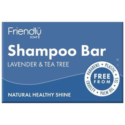 Friendly Soap Festes Shampoo Lavendel & Tea Tree lavendel