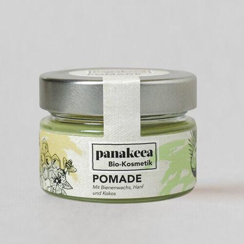 panakeea Pomade, Bio Und Tierversuchsfrei: Mittelfester Halt, Feiner Glanz