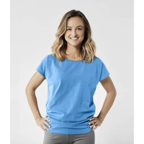 Lotuscrafts Organic Yoga Shirt blau XS
