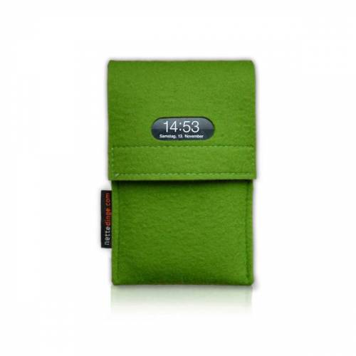 nettedinge Chargecase Handyladetasche grün L