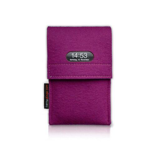 nettedinge Chargecase Handyladetasche pink L