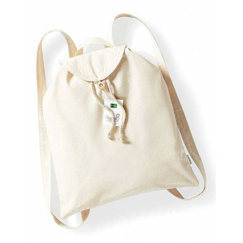 Westford Mill Organic Festival Backpack Rucksack beige