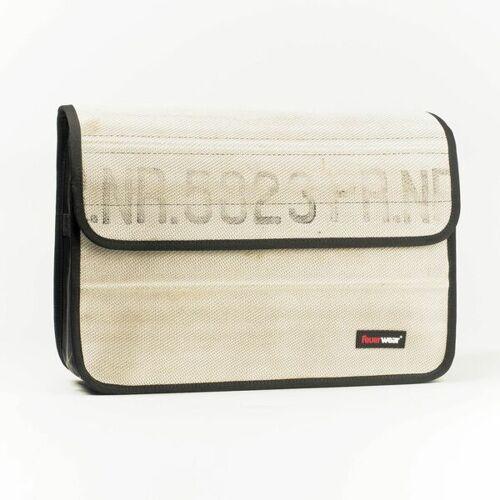 Feuerwear Scott 17 Laptoptasche Umhängetasche Notebook - Tasche weiss