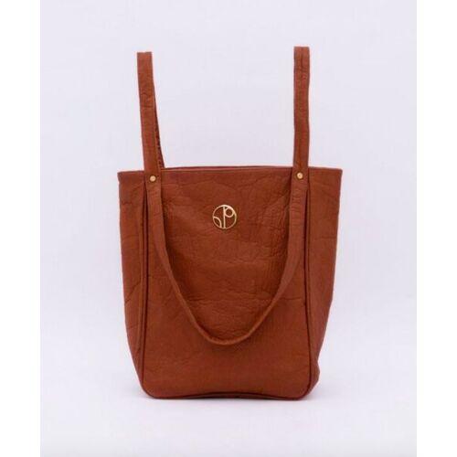 1 People Tragetasche - Tokyo Nrt - Piñatex® Tote Bag brown