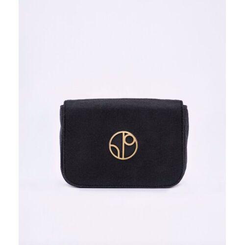 1 People Riementasche - New York Jfk - Piñatex® Belt Bag schwarz