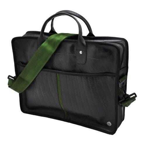 MoreThanHip Jobs Laptoptasche 14 Zoll - Armee Grün grün