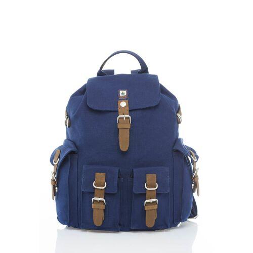 Pure Rucksack Mit 4 Außentaschen blue