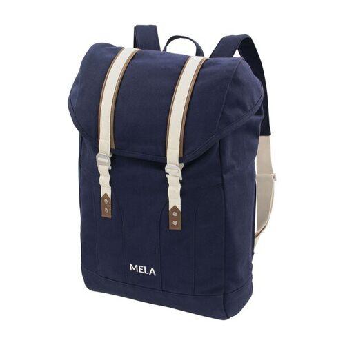 MELAWEAR Rucksack Mela V - Fairtrade & Gots Zertifiziert blau