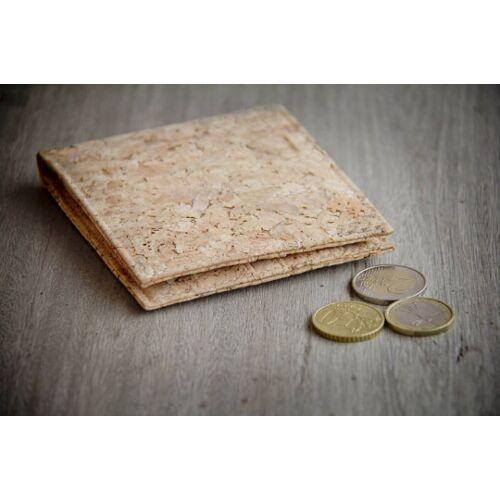 BY COPALA Portemonnaie Aus Recycling - Kork / Vegan / Cork Wallet cork / braun