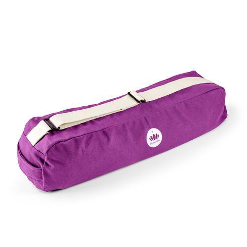 Lotuscrafts Yogatasche Pune 100 % Baumwolle (Kba) violett