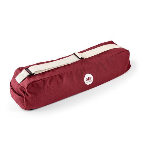 Lotuscrafts Yogatasche Pune 100 % Baumwolle (Kba) bordeaux