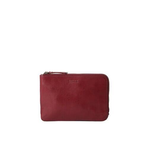 O MY BAG Umhängetasche/ Clutch - Lola rot (ruby classic)