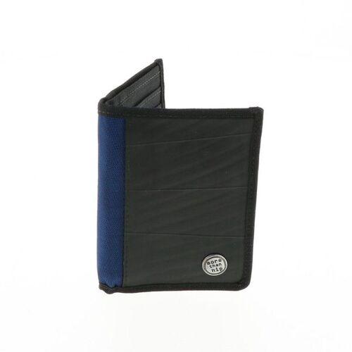 MoreThanHip Herren Brieftasche Aus Recyceltem Lkw Schlauch - Doekoe - 4 Farben blau