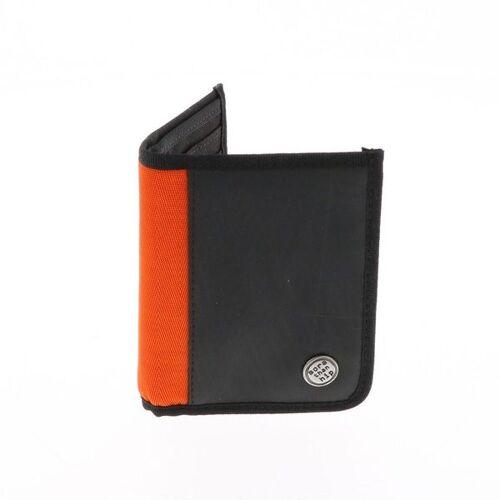 MoreThanHip Herren Brieftasche Aus Recyceltem Lkw Schlauch - Doekoe - 4 Farben orange