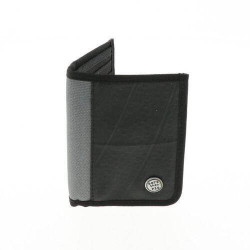 MoreThanHip Herren Brieftasche Aus Recyceltem Lkw Schlauch - Doekoe - 4 Farben grau