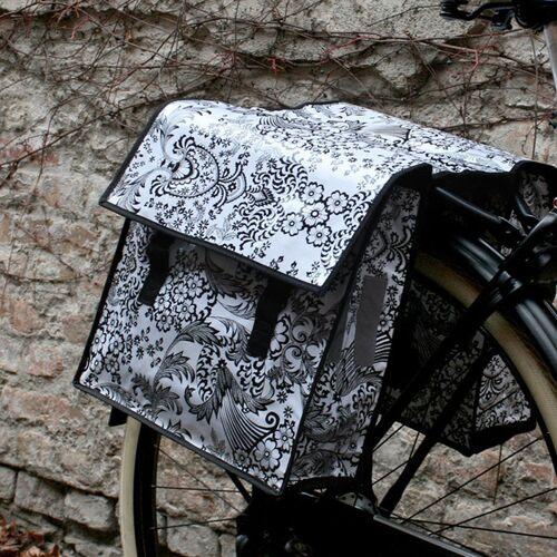 Mitienda Shop Set Fahrradtasche & Sattelschoner Eden Weiß weiß