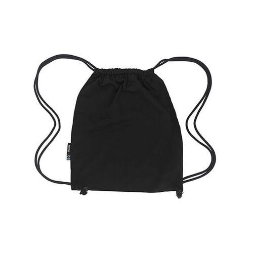 Neutral Sportbeutel Backpack Rucksack Gymbag schwarz