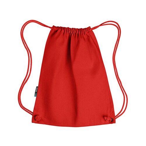 Neutral Sportbeutel Backpack Rucksack Gymbag rot