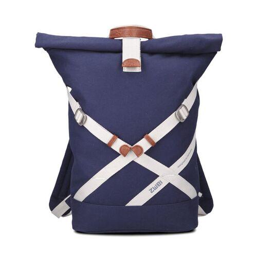 Zwei GmbH Rucksack Yoga Aus Baumwolle - 100 % Co2-neutral blue