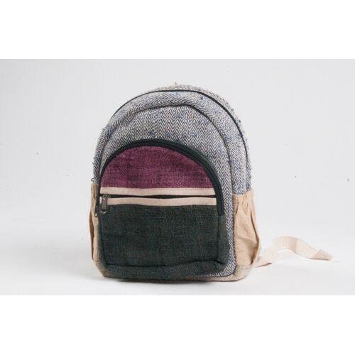Himal Hemp Hh Kleiner Nepali-rucksack Aus Hanf Und Baumwolle Von Himal Hemp (Backpack)
