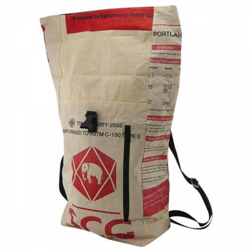 Upcycling Deluxe Kurier-rucksack Cement Carrier