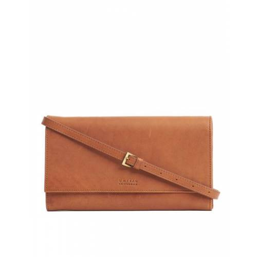 O MY BAG Kirsty Clutch braun (cognac)