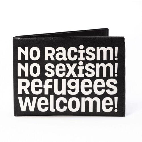 paprcuts Portemonnaie - No Racism!