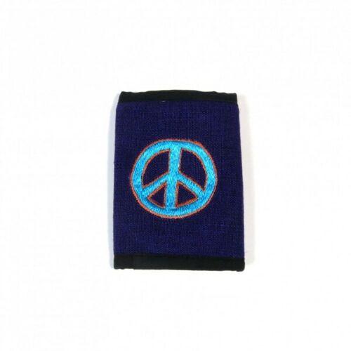 Just Be Peace Geldbörse violett