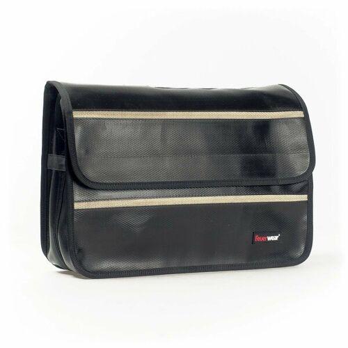 Feuerwear Scott 17 Laptoptasche Umhängetasche Notebook - Tasche schwarz