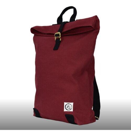 WePack Narya - Nachhaltiger Laptop-rucksack red hibiscus (weinrot)