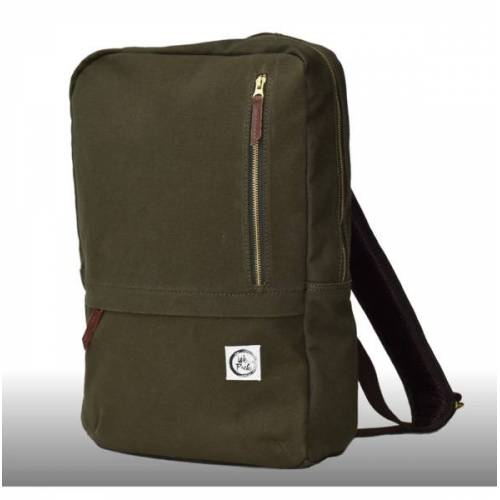 WePack Webag L - Nachhaltiger Laptop-rucksack zeitouna (oliv)