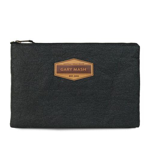Gary Mash Piñatex® Clutch Handtasche Schwarz schwarz