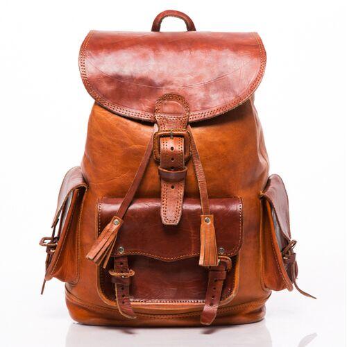 "Hecho. Lederrucksack ""Cesare"" (M, 25l) (Rucksack, Ledertasche, Tasche, Backpack)"