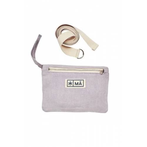 MÁ Hemp Wear Hip Bag - Sivri pale lavender (lila)