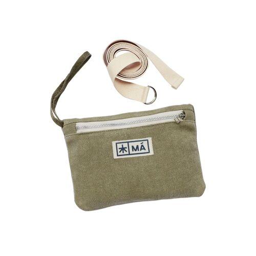 MÁ Hemp Wear Hip Bag - Sivri mud green (grün)