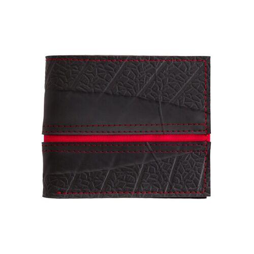 SAPU George Faltbare Geldbörse Für Männer Und Frauen rot h9.5cm x l22cm x d1cm